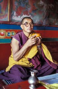 Monaco buddista Ladakh - 2003