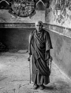 Monaco buddista Ladakh 1982